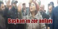 CHP Belediye başkanı öfkeli işçileri ikna edemedi