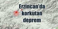 Erzincan'da deprem; Erzincan Çayırlı 4.1 ile sallandı