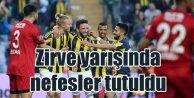 Fener zirveye göz dikti; Fenerbahçe 3 - Gaziantepspor  0