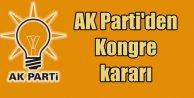 Flaş Flaş Flaş; AK Parti Olağanüstü Kurultay'a gidiyor