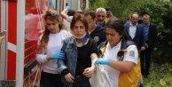 Halk otobüsü sürcüsü saldırıya uğradı, kalp krizi geçirdi, 10 yaralı var