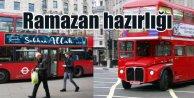 İngiltere'de belediye otobüslerine Subhan Allah yazısı