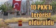 Lice'de 10'dan fazla terörist öldürüldü
