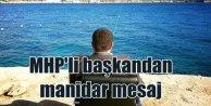MHP'li ilçe başkanından koltuklu mesaj
