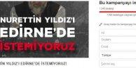Nurettin Yıldız'ın Edirne konferansı tepki yüzünden iptal eildi