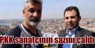 PKK'lılar Diyarbakırlı sanatçının evini yağmaladı