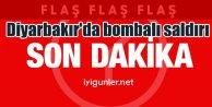 Son Dakika Diyarbakır'da bombalı saldırı, 1 şehit 21 yaralı var