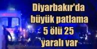 Son Dakika Haberleri, Diyarbakır'da patlama 5 ölü var