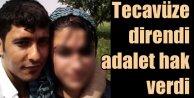 Tecavüze kalkışan sevgiliyi öldüren genç kıza ceza indirimi