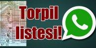 Torpil Listesi Whatsapp#039;tan yanlış yere gönderildi