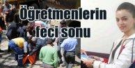 Tunceli'de kaza, 2 öğretmen hayatını kaybetti