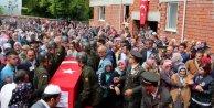 Zonguldaklı Şehit Buraz Saraçlı'yı binlerce vatandaş uğurladı