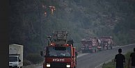 Adrasan#039;da yangın kontrol altında: Geriye küller kaldı