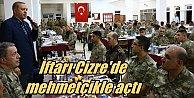 Cumhurbaşkanı Erdoğan, İftarını Cizre'de mehmetçikle açtı