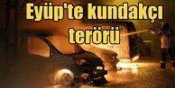 Eyup'ta kundakçı terörü; Park halinde 6 aracı ateşe verdiler