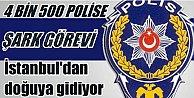 İstanbul polisinde Şark Görevi fırtınası