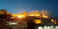 Mardin kalesinde bir günde iki yangın