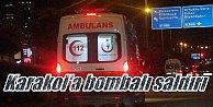 Ömerli'de Jandarma karakoluna bombalı araçla saldırı