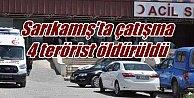 Sarıkamış#039;ta çatışma, 4 terörist öldürüldü, 2 asker yaralandı