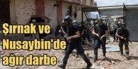 Şırnak ve Nusaybin#039;de operasyonlar sona erdi