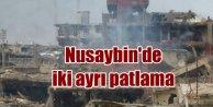 Son Dakika Nusaybin; Nusaybinde bombalar patladı