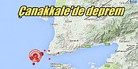 Son Depremler, Çanakkale#039;de deprem: Gülpınar 4.1 ile sallandı