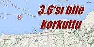 Yalova#039;de deprem; Son dakika Deprem, 3.6 korkuttu