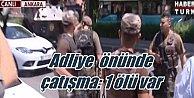 Ankara Adliyesi önünde silahlı çatışma 1 ölü var