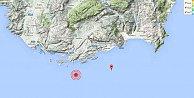Antalya'da deprem: Kaş'ta deprem, 4,1 uykusuz bıraktı