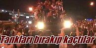 Askeri Darbe,  Tanklar polisler tarafından ele geçirildi, Eskişehir#039;den savaş uçaklar kalktı