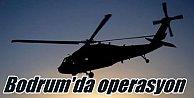 Bodrum'da gece operasyonu: Kaçak FETÖ'cü SAT komandolarına operasyon