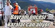 Bursa Kestel#039;de kaza,  Freni patlayan TIR faciaya neden oldu