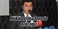 Demirtaş: Hukuk mücadelesinde hükümetin yanında olacağız