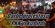 Diyarbakır'da darbe protesto edenlere PKK'dan bombalı saldırı