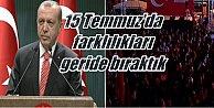 Erdoğan: 123#039;ü general 5 bin 863 kişi tutuklandı...