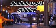 Hakkari#039;de polise bomba yüklü araçla saldırı