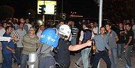 Konya#039;da Suriyeli gerginliği: Suriyeli#039;lerin kaldığı otel önünde olaylar çıktı