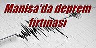 Manisa#039;da deprem fırtınası: 65 kez sallandı