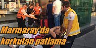 Marmaray'da bomba paniği: Yürüyen Merdiven bomba gibi patladı