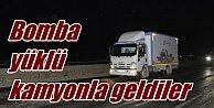 PKK#039;nın bomba yüklü kamyonu imha edildi