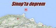 Sinop#039;ta deprem: Sinop 4.3 depremle sallandı