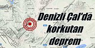 Son Dakika Deprem, Denizli Çal#039;da deprem