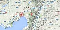 Son depremler, Adana#039;da deprem; Ceyhan 3.9 ile sallandı