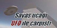 UFO#039;lar ilk kez bu kadar yaklaştı: Havada uçakla çarpıştı