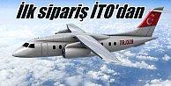 Yerli yolcu uçağına ilk sipariş İTO'dan geldi
