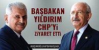 Başbakan#039;dan CHP#039;ye ziyaret