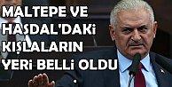 Başbakan Maltepe ve Hasdal#039;daki kışlalar için yeni adres verdi