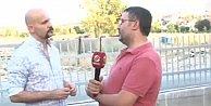 Beyaz TV muhabiri Atalay Demirci#039;nin yüzüne tükürdü