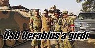 Cerablus#039;ta son durum; OSÖ vurdu, IŞİD kaçtı