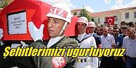 Hakkari şehitleri Ankara#039;dan uğurlandı